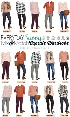Harvest Color Mix and Match Cute Casual Fall Outfits. Casual fall fashion for women with skinny jeans, fun plaid tops, flats and booties Autumn Fashion Casual, Fall Fashion Trends, Casual Fall Outfits, Cute Outfits, Fall Trends, Winter Outfits, Capsule Wardrobe Work, Wardrobe Ideas, Capsule Outfits