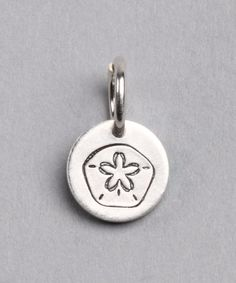 Take a look at this Sterling Silver Sand Dollar Charm by FIVE on #zulily today!