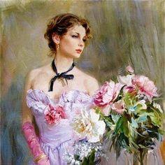 Gorgeous Lady Print.