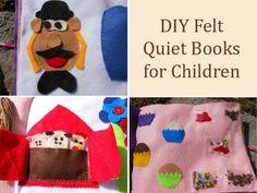 DIY Felt Quiet Books for Children