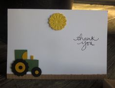 Stampin' Up!, DIY Crafts, Endless Thanks, Punch Art, John Deere, Project Life by Stampin' Up! Come take the Grand Vacation Achiever's Blog Hop today! Start at my blog: http://www.carolpaynestamps.com/2015/10/stampin-up-grand-vacation-achievers-blog-hop-inspired-by-project-life.html