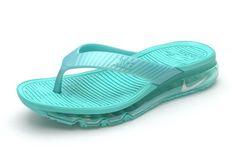 outlet store 2f357 35c02 Women Nike Air Max Flip Flops Cheap Nike Sandals Cheap Slides Green