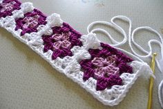 Joining-As-You-Go Without Cutting The Thread Crochet Tutorial By Sara Palacios - (ravelry)