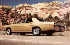 1968 Ford Galaxie 500. My first car! (Land barge)