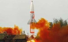 India test-fired indigenously developed surface-to-surface nuclear-capable ballistic missile Prithvi-II off Odisha coast on Wednesday evening. Future Of India, Nuclear Disarmament, Current Affairs Quiz, Trending Hashtags, Ballistic Missile, Military News, North India, This Is Us, Fire