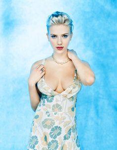 "fuckyeahladyboner: "" suicideblonde: "" Scarlett Johansson photographed by Norman Jean Roy "" """