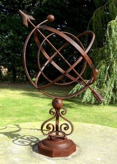 Armillary Sundials : Black Country Metalworks Ltd