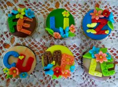 Cupcake Feliz Cumpleaños