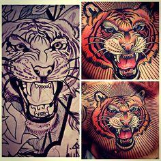 Tattoo done by Johnny Domus Mesquita. @johnny_domus_mesquita