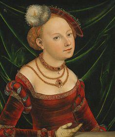 LUCAS CRANACH (1472 - 1553) | Portrait of a Woman.