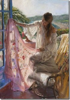 Vicente Romero Redondo's painting , Spain