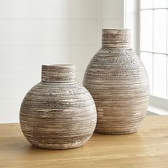 Cove Vases at Crate and Barrel Canada. Discover unique furniture and decor from across the globe to create a look you love. Rustic Home Design, Rustic Art, Rustic Decor, Rustic Modern, Rustic Logo, Rustic Chair, Rustic Crafts, Rustic Table, Rustic Industrial