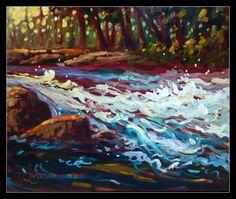 Forêts   Lynn Garceau – Artiste peintre