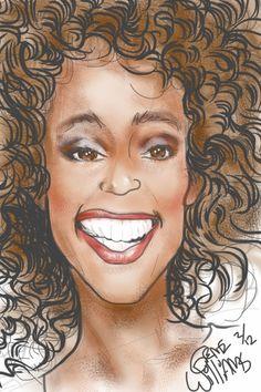 Whitney Houston by Gwiz