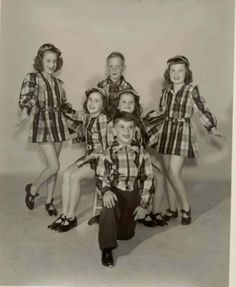 Dancers-in-checks-Vintage-Dance-50s-photo-SO-much-better-in-person-8x10