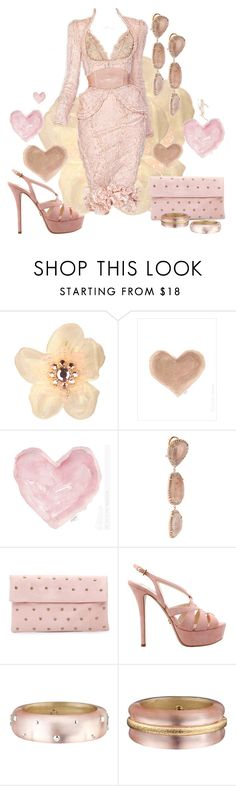 """Victorian Valentine"" by rockreborn ❤ liked on Polyvore featuring Tarina Tarantino, French Country, Alexander McQueen, Shabby Chic, Kimberly McDonald, Fab., Prada, Alexis Bittar and pink dress"