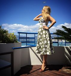 Pin for Later: Get a Closer Look at Cannes Thanks to These Stylish 'Grams Blake Lively Showed Off Her Cynthia Rowley Dress — and Wished For a Bird to Give Her Some Luck