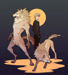 Dark Hallways by Aledles on DeviantArt Anime Wolf, Anime Furry, Fantasy Creatures, Mythical Creatures, Tier Wolf, Wolf Character, Werewolf Art, Beautiful Dark Art, Creature Drawings