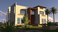 Contemporary House - Animation - Dream Homes تصاميم فلل - فيلا 2