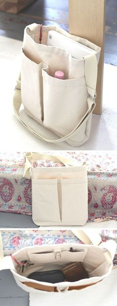 Patron de couture sac bandoulière Virginia par Sober Patterns