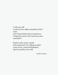 I'll never marry a Mexican by Sandra Cisneros | quotes | Pinterest ...