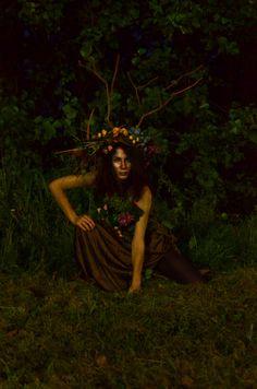 Костюм лесной нимфы Wood nymph costume