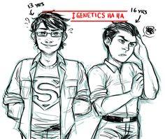 Superboy & Robin
