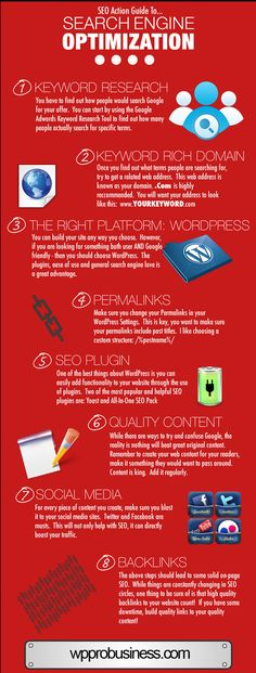 8 Blog SEO Must Dos #seo #blogging #infographic