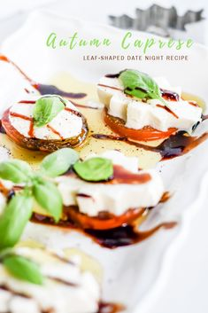Date night recipe | Autumn menu | Appetizers | Italian with a Twist | Easy Meals | Simple Recipe Ideas | Holiday Entertaining | Thanksgiving