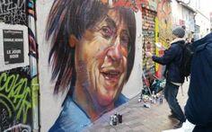 streetart de Cabu signé Juis à Marseille