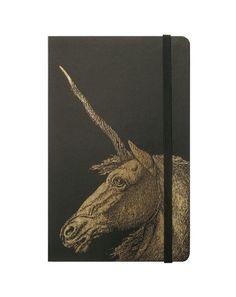 unicorn moleskin | Modofly Moleskine journal with fabulouso unicorn laser etched on the ...