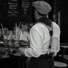 The Waiter Paris by Corot2  on 500px