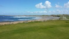 The beach from the fairway Golf Ireland, Tour Operator, 18th, Tours, Beach, Water, Pictures, Outdoor, Gripe Water
