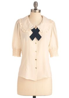 Scholastically Sweet Top, #ModCloth