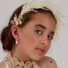 Crown For Kids, Hair Garland, Luxury Flowers, Luxury Hair, Kids Branding, Halo, Red Carpet, Most Beautiful, Pearl Earrings