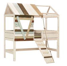 tree-house bed idea