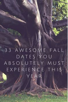 33 Awesome Fall Dates You Absolutely Must Experience This Year
