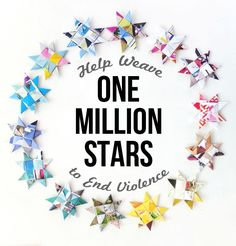 How to: Woven Paper Stars – The One Million Stars Project