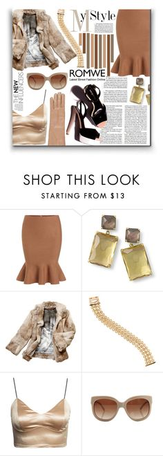"""all in romwe"" by ninakistyles ❤ liked on Polyvore featuring Ippolita, Anya Hindmarch, Cartier, STELLA McCARTNEY, Barneys New York, women's clothing, women, female, woman and misses"