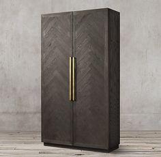 27 Ideas Wood Door Detail Texture For 2019 Wood Cabinet Doors, Wood Doors, Double Door Design, Herringbone Wood Floor, Wardrobe Design Bedroom, Wardrobe Doors, Closet Doors, Interior Barn Doors, Barn Door Hardware