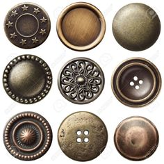 metal buttons - Google Search