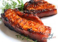 Marinovaná žebírka v medu Pork Recipes, Asian Recipes, Cooking Recipes, Ethnic Recipes, Canned Meat, Food 52, Confectionery, Tandoori Chicken, Bucky