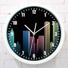 Wall Clock Saat Clock Reloj Duvar Saati Horloge Murale Vintage Digital wall clocks Relogio de parede Klok Watch Home decor Mantel Clocks, Clock Decor, Wall Clocks, Digital Clocks, Digital Wall, Modern Fashion, Spice Things Up, Simple Designs, Home And Garden