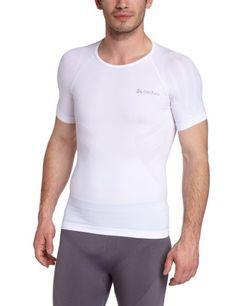 Odlo - Camiseta interior de running para hombre, tamaño 48 / 50 (XL), color blanco #regalo #arte #geek #camiseta
