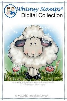 Crissy's Digis by Crissy Armstrong Spring Drawing, Easter Lamb, Easter Eggs, Easter Paintings, Spring Lambs, Spring Animals, Bunny Drawing, Image Stamp, Barnyard Animals