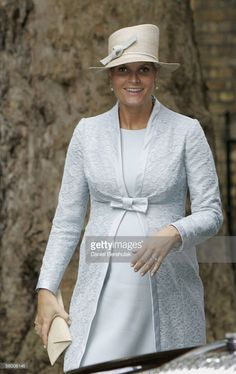 Crown Princess Mette-Marit arrives at the Prime Minister's 10 Downing St residence on October 25, 2005 in London, England. The royal visit is to mark 100 years of Norway's independence from Sweden.
