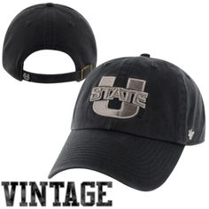 47 Brand Utah State Aggies Clean Up Adjustable Hat - Navy Blue Champion  Gear b31ccd472