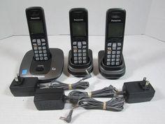 Panasonic TG6411T 1.9 GHz Single Line Cordless Phone KX-TGA641 #Panasonic
