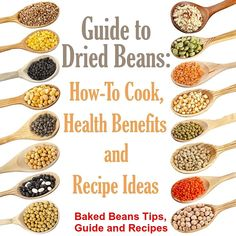 Easy Baked Beans Recipes - Healthy Homemade Baked Beans That Kids Love Beans are very healthy – packed with protein and fiber. Discover how to bake your own beans at ho Simple Baked Beans Recipe, Dry Beans Recipe, Homemade Baked Beans, Bean Recipes, Vegetarian Recipes, Healthy Recipes, Healthy Beans, Vegetarian Lifestyle, Burger Recipes