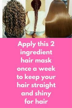 Apply this 2 ingredient hair mask once a week to keep your hair straight and shiny for hair If you are suffering from frizzy and dull hair, you are at right place. Today we are going to share recipe of one very simple hair mask that can solve all of your hair problems and will give new life to your hair For this you will need just 2 ingredients Olive oil – 2tbsp …